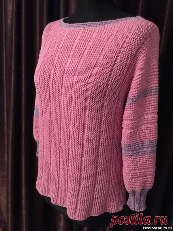 Кофта для прохладной погоды | Вязание для женщин спицами. Схемы вязания спицами