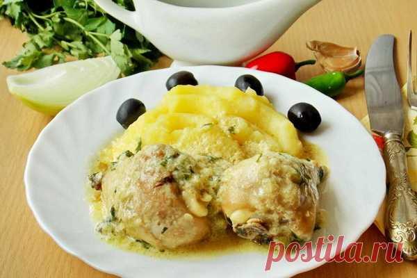 Гедлибже – курица в сметане по-кабардински