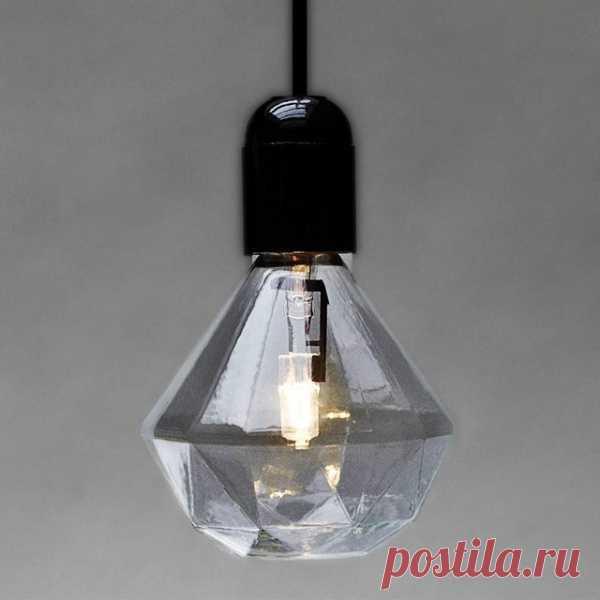 лампочка-алмаз ($49 на Fancy)