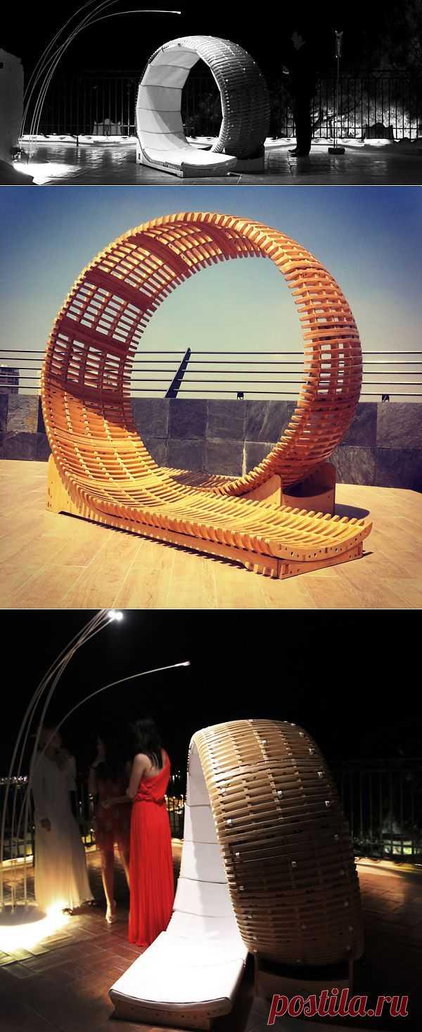 Инновационный лежак от Виктора Алемана (Victor Aleman). Зачем заниматься  клумбами, когда тут такое...