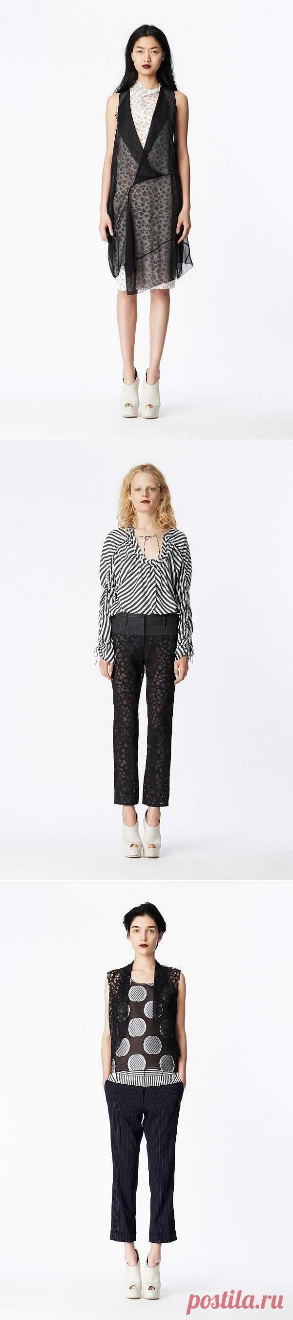Vera Wang Resort 2014 / Лукбуки / Модный сайт о стильной переделке одежды и интерьера