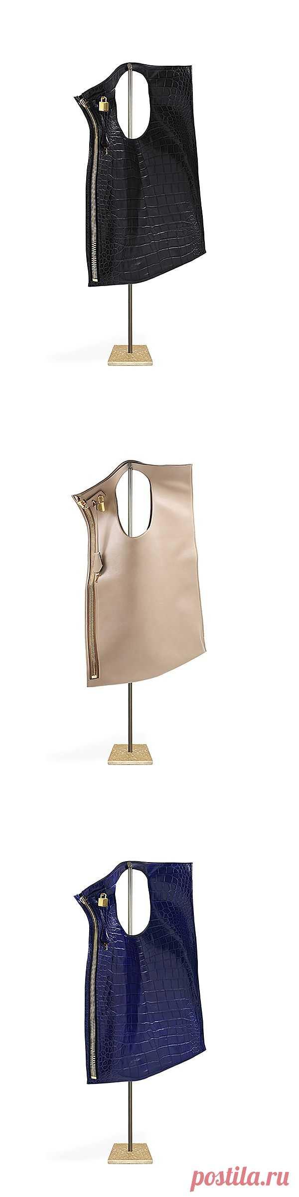 Простая сумка-пакет / Сумки, клатчи, чемоданы / Модный сайт о стильной переделке одежды и интерьера