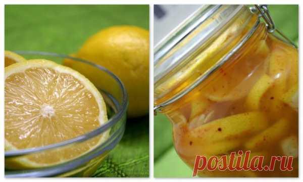 Соленые и маринованные... лимоны
