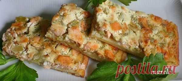 """Датский пирог с лососем • Форум сайта """"Красна изба пирогами"""""""