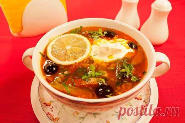 I did not eat such meat solyanka yet! I share the mother's recipe of preparation of solyanka! | Povaryosha | Yandex Zen