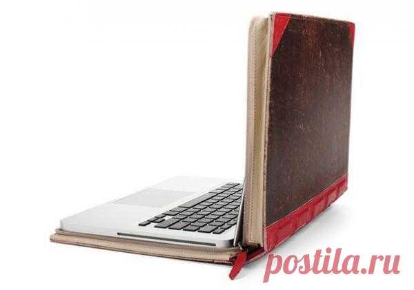 Чехол для ноутбука в виде книги
