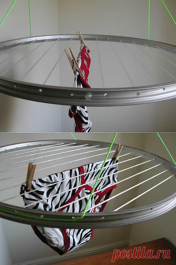 Вторая жизнь велосипедных дисков / Авто Мото Вело / Модный сайт о стильной переделке одежды и интерьера