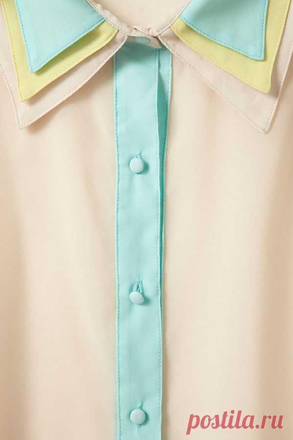 Тройной воротничок #2 / Воротнички / Модный сайт о стильной переделке одежды и интерьера