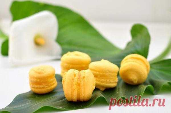 В желтом цвете: Вкусные макаруны