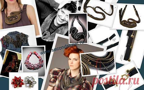 Как сделать ожерелье из молний / Украшения и бижутерия / Модный сайт о стильной переделке одежды и интерьера