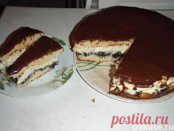 """Торт """"Надежда"""" - Простые рецепты Овкусе.ру"""