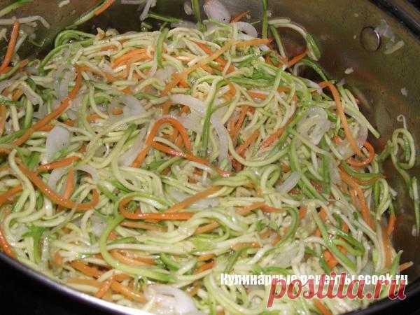 Салат из кабачков по-корейски на зиму | Рецепты вкусных блюд