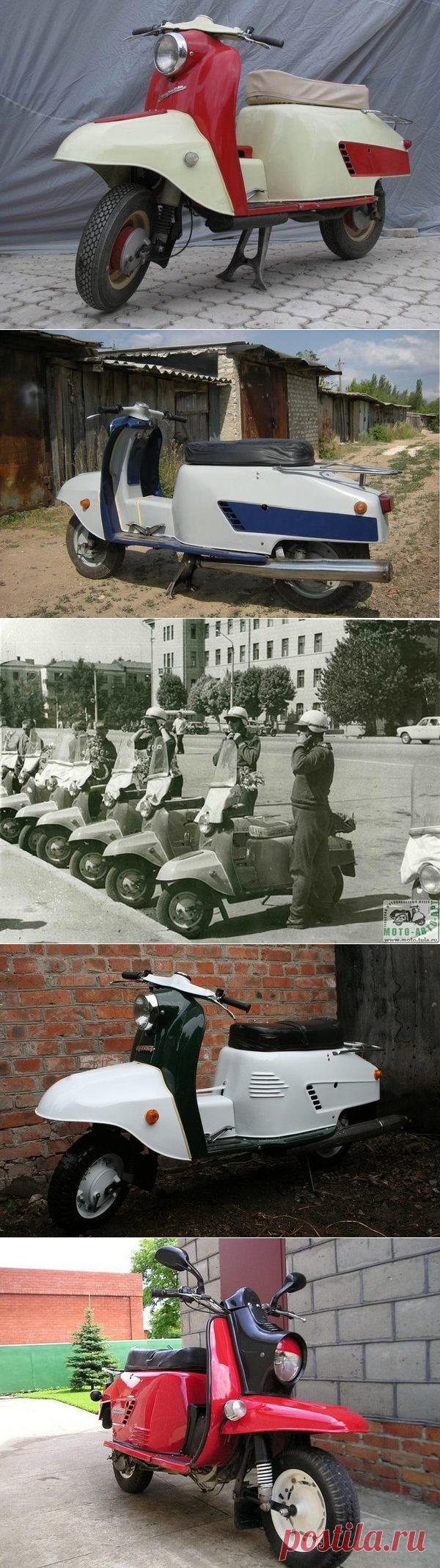 4 легендарных советских мотороллера / Назад в СССР / Back in USSR