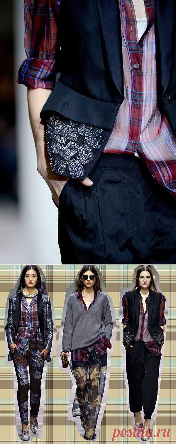 Псевдобулавочная штопка / Детали / Модный сайт о стильной переделке одежды и интерьера