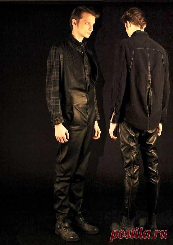 Кожаный комбинезон / Мужская мода / Модный сайт о стильной переделке одежды и интерьера