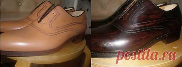 Перекраска обуви / Обувь / Модный сайт о стильной переделке одежды и интерьера