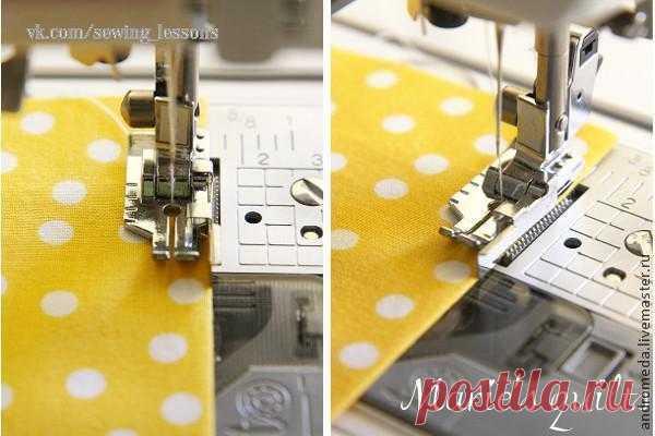 Возможности швейной лапки дюйма — Сделай сам, идеи для творчества - DIY Ideas