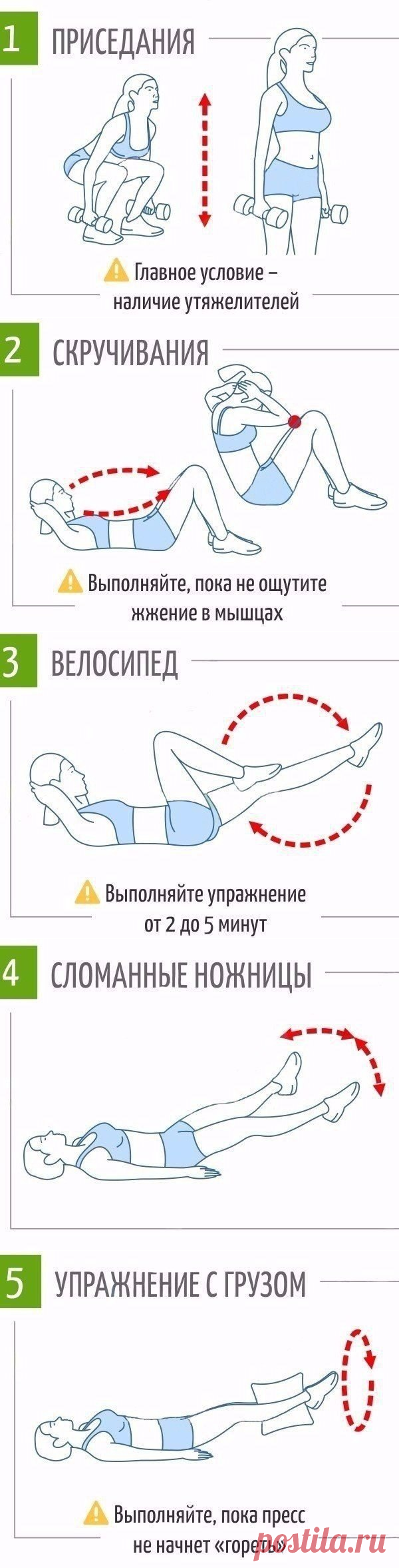 Физические упражнения для похудения в домашних условиях узнайте.