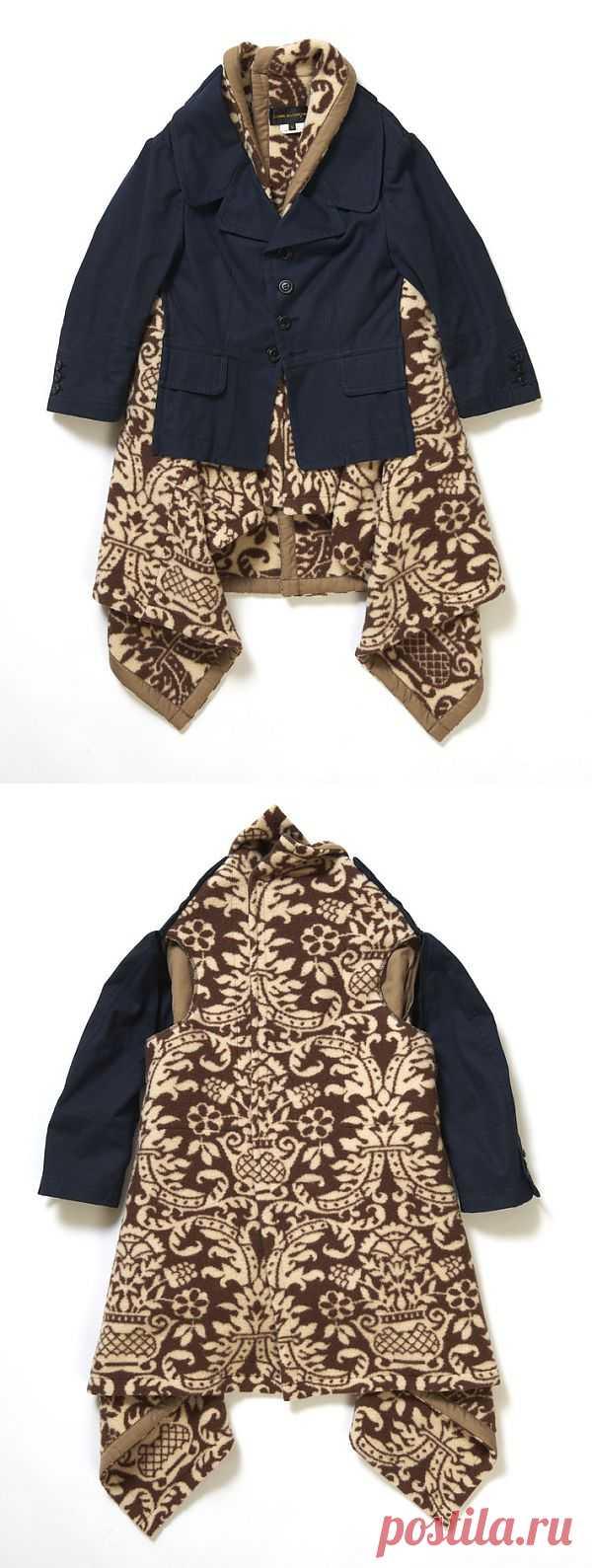 Жакет + одеяло = нечто / Вещь / Модный сайт о стильной переделке одежды и интерьера
