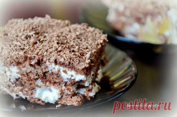 Торт без выпечки: пряничная версия.