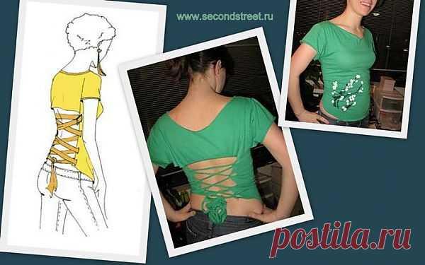 переделка футболки / Аксессуары (не украшения) / Модный сайт о стильной переделке одежды и интерьера