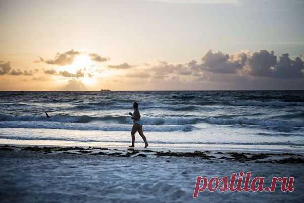 Пробежка или быстрая ходьба успокаивает клетки мозга.
