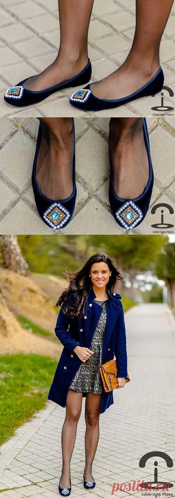 Балетки в восточном стиле (DIY) / Обувь / Модный сайт о стильной переделке одежды и интерьера
