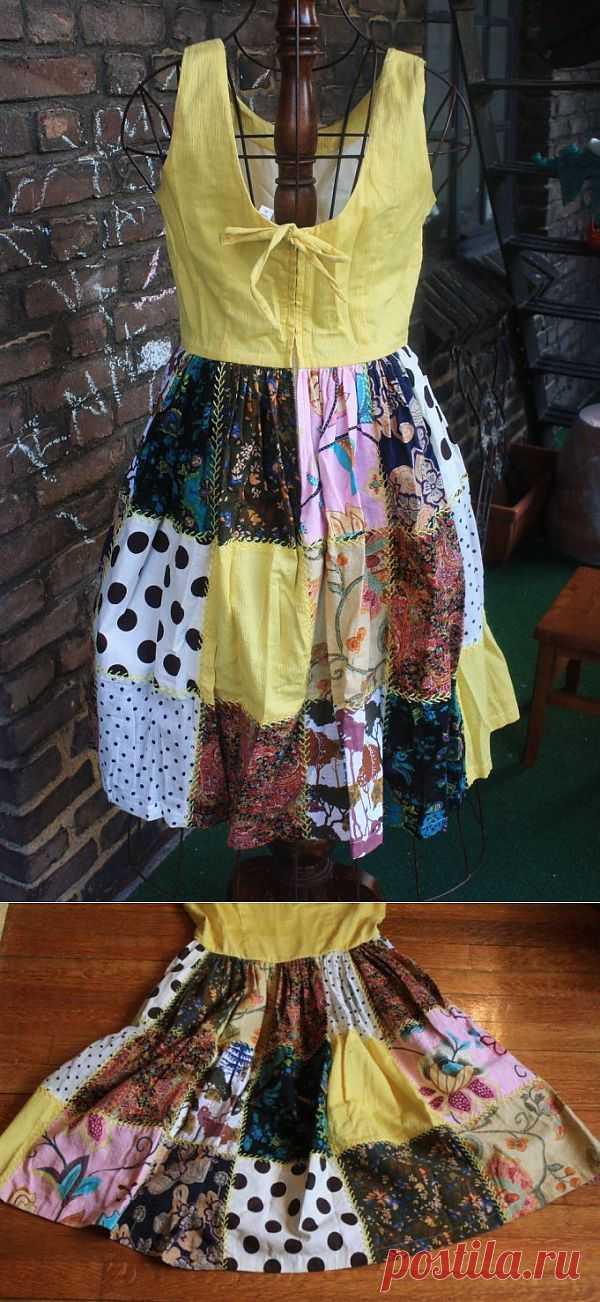Сарафан / Пэчворк / Модный сайт о стильной переделке одежды и интерьера