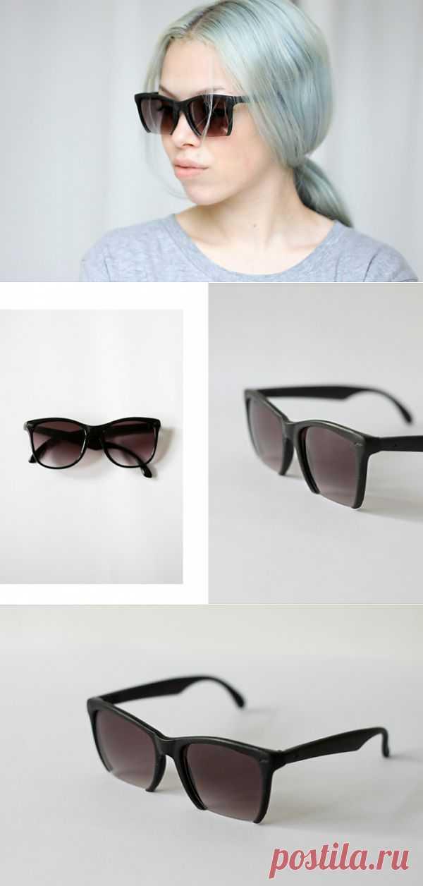 Обрежь очки (мастер - класс) / Декор очков / Модный сайт о стильной переделке одежды и интерьера