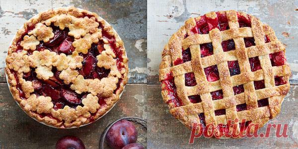 Как украсить летний сладкий пирог с ягодами или фруктами . Милая Я