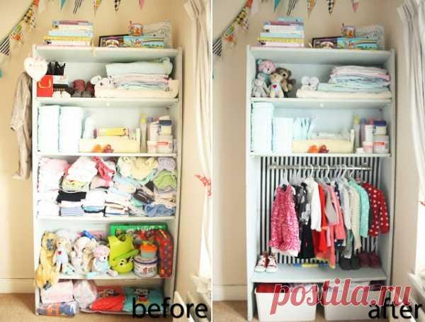 Как правильно организовать детский гардероб