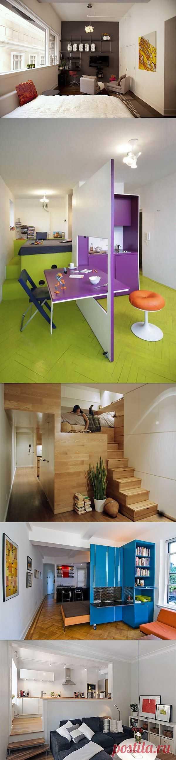 Идеи интерьера для маленькой комнаты » Журнал интерьерных находок