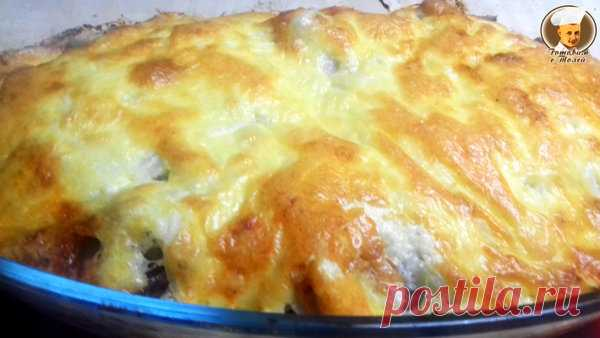 Картошка с Мясом по Французки - Самый удачный рецепт, каждый сможет приготовить эту вкуснятину | Готовим с Толей | Яндекс Дзен