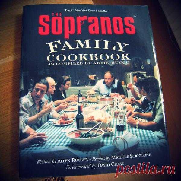 The Sopranos Family Cookbook - $20 (жаль, только на английском)