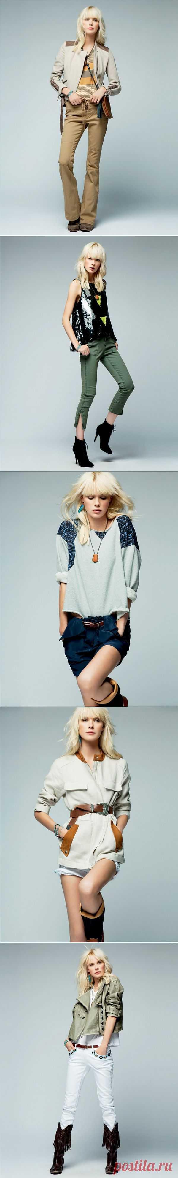 April, May S/S 2012 (трафик) / Лукбуки / Модный сайт о стильной переделке одежды и интерьера