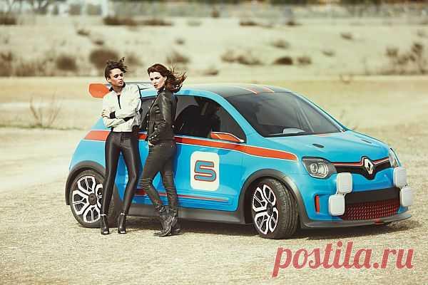 Renault Twin'Run Concept: The R5 Turbo XXI Century c 320-сильным  V6 мотором.