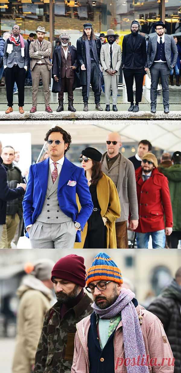 Мужской зимний стрит стайл (трафик) / Street Style / Модный сайт о стильной переделке одежды и интерьера