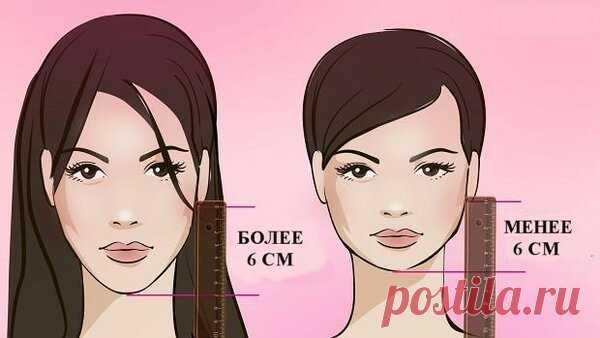 «Правило 6 см»: как определить какая длина волос вам подходит   модница   Яндекс Дзен