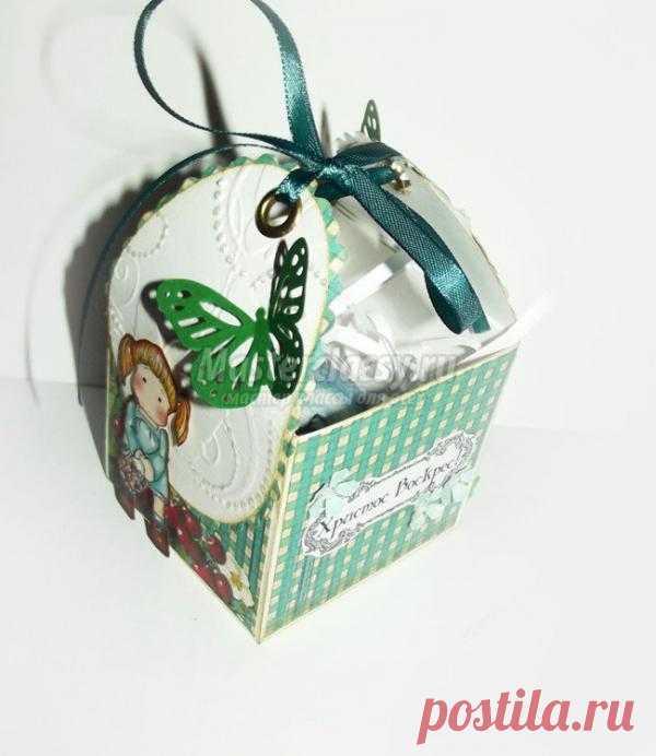 Пасхальная коробочка для яйца. Мастер - класс с пошаговыми фото.