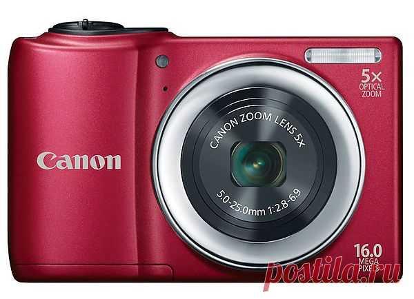 Недорогой фотоаппарат Canon