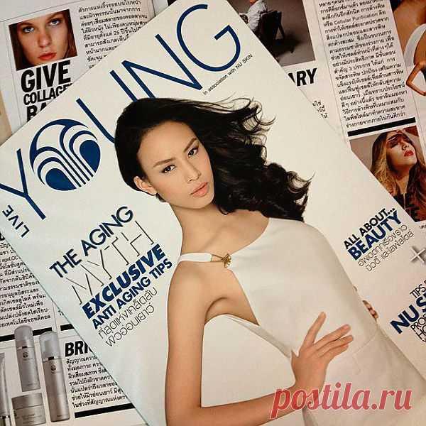 Этот тайский журнал полностью посвящён эксклюзивным технологиям AgeLoc.