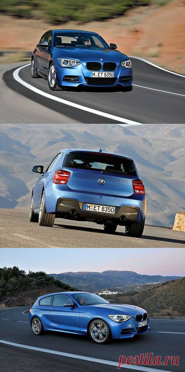 Версия купе BMW 1-Series 2013 запаслась 320 «лошадками».