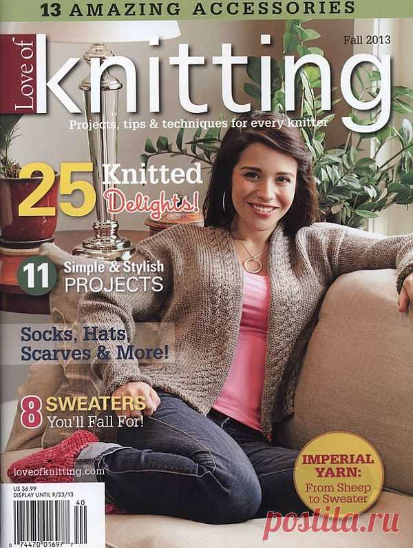 Love of Knitting fall 2013