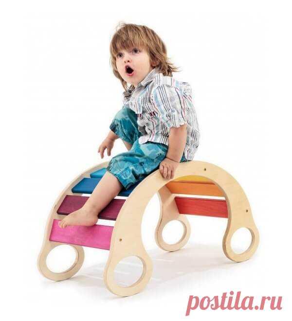 Детская горка качалка радуга от производителя! ⋆ Artolino