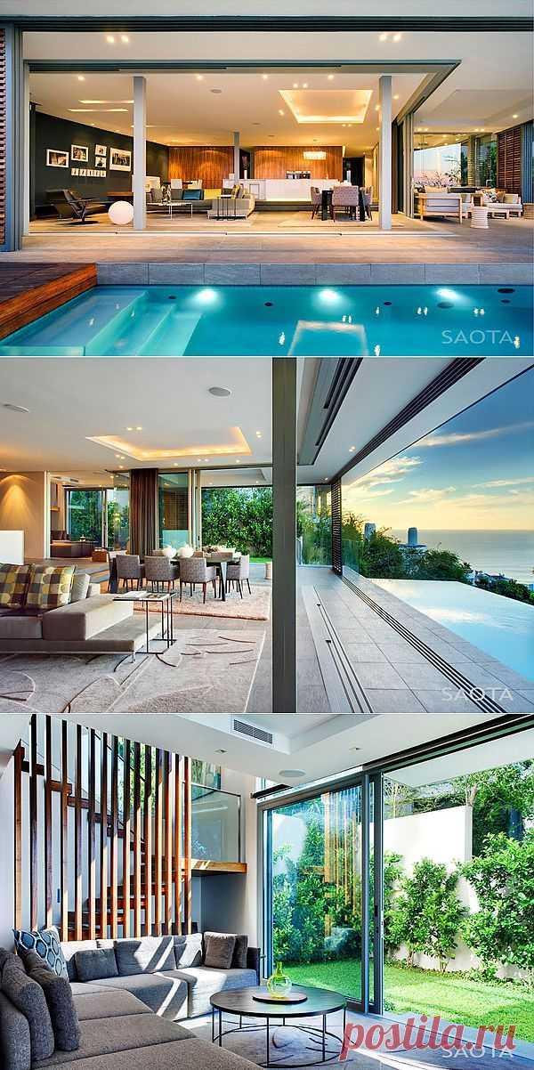 Шикарная резиденция от SAOTA в Кейптауне | КрасиВО!!!