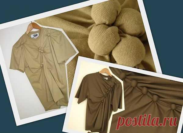 Переделка футболки / Изменение размера / Модный сайт о стильной переделке одежды и интерьера