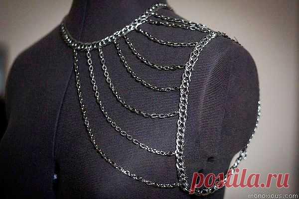 Еще раз про цепочки / Украшения и бижутерия / Модный сайт о стильной переделке одежды и интерьера