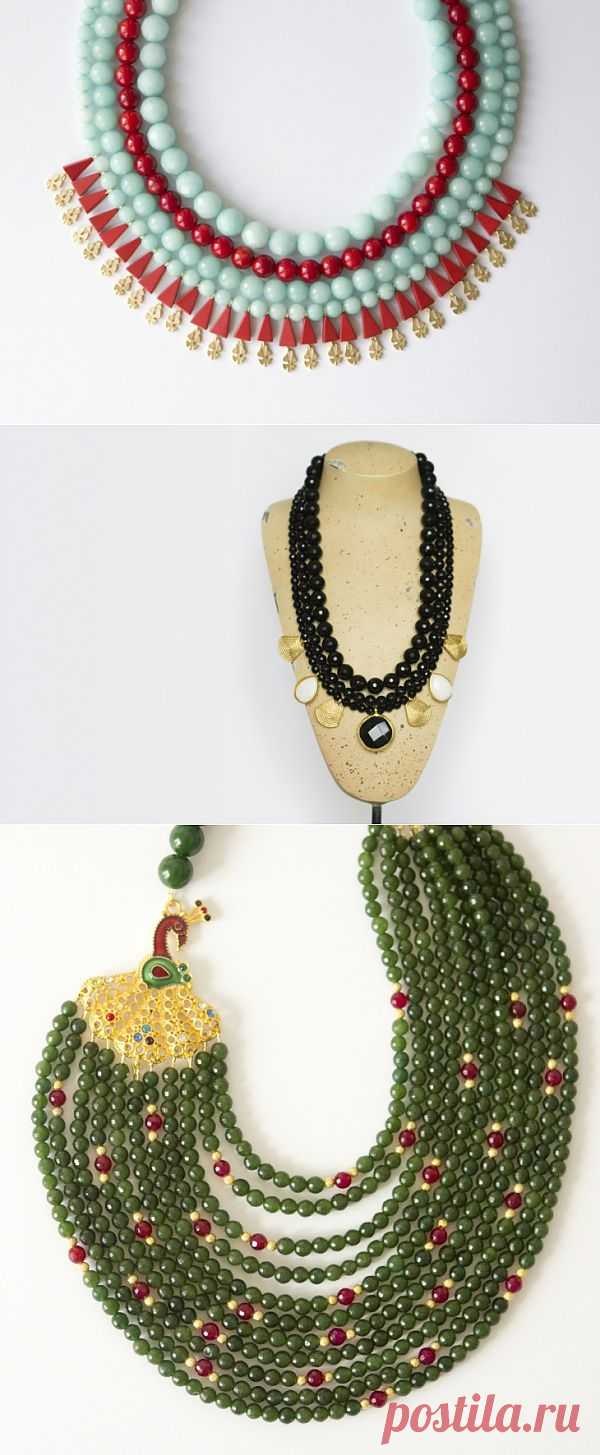 Бусы от Piggy Stones (трафик) / Продажа хенд-мейд вещей ручной работы / Модный сайт о стильной переделке одежды и интерьера