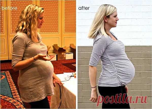 Резинка под животом (Diy для беременных) / Будущие мамы / Модный сайт о стильной переделке одежды и интерьера