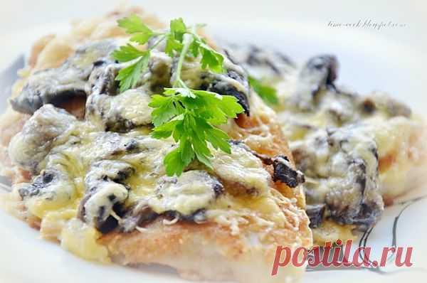 Мастерская на кухне: Рыба в кляре, запеченная с грибами.